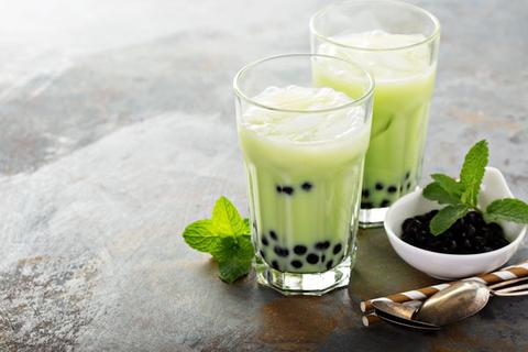 Green Boba Tea
