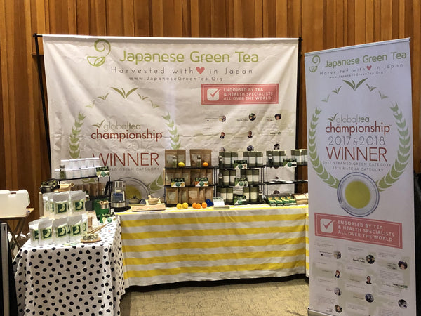 PDX Tea Festival - Booth of Japanese Green Tea Company