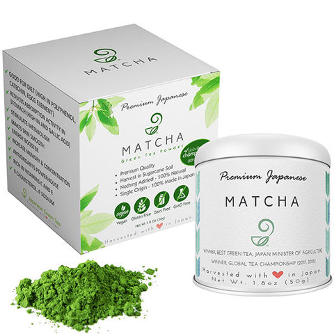 Premium Matcha Japanese Green Tea on Amazon