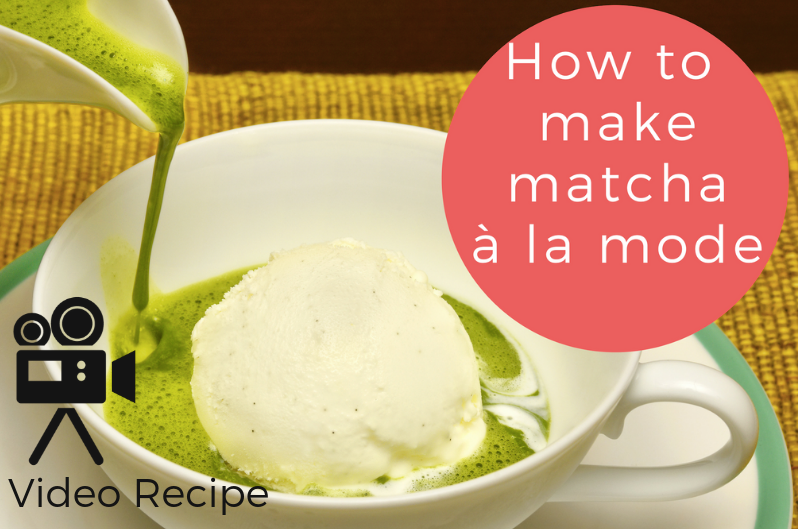 How to make matcha a la mode