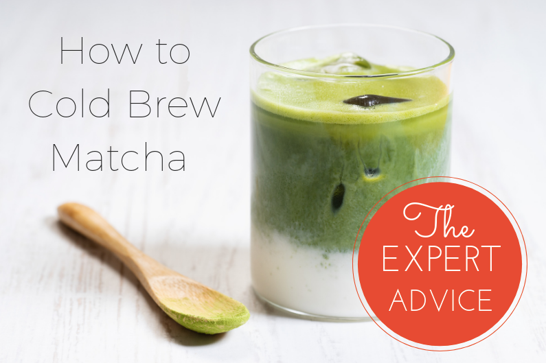 How to cold brew matcha green tea