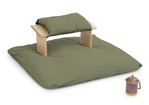 #16  Seiza Meditation Bench With Seiza Cushion and Zabuton Mat – $150 to $162.00