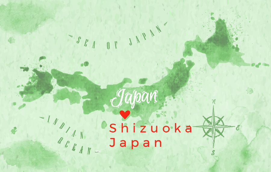 Our green tea is harvested with love in Shizuoka, Japan