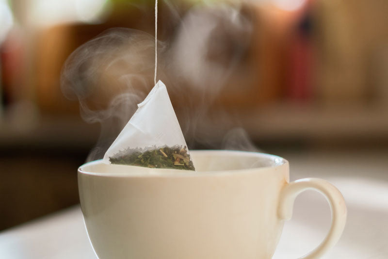 Silon Tea Bag and Tea