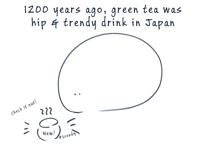 Tea was trendy drink