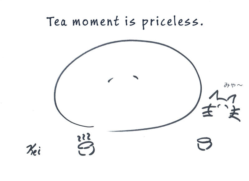 Tea Moment is Priceless