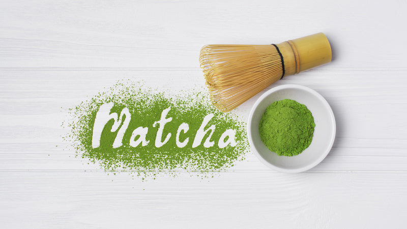 Matcha green tea is a high quality type of green tea