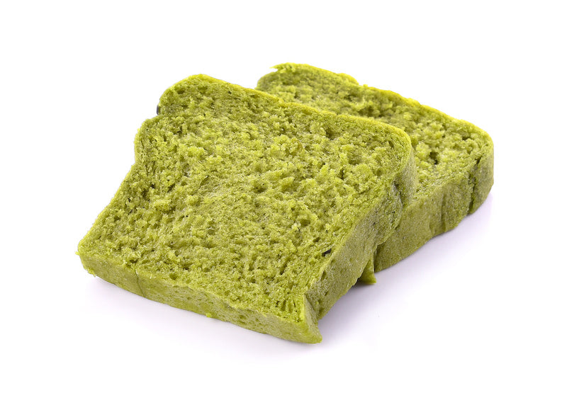 Green Tea can be used in baking and can be used to bake bread