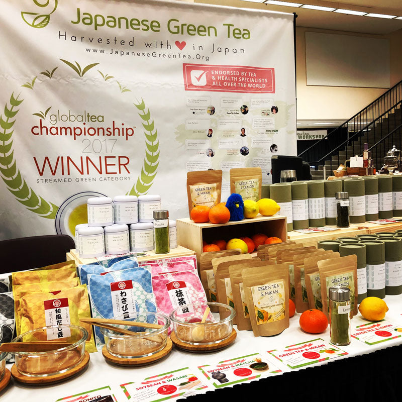 Japanese Green Tea Company at Northwest Tea Festival 2018