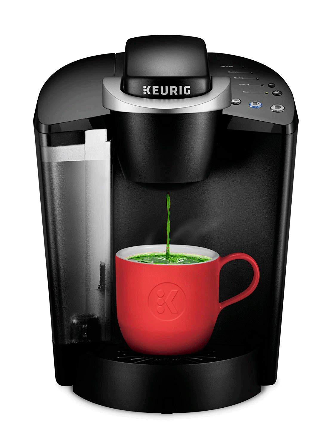 you can use the Keurig to brew tasty green tea
