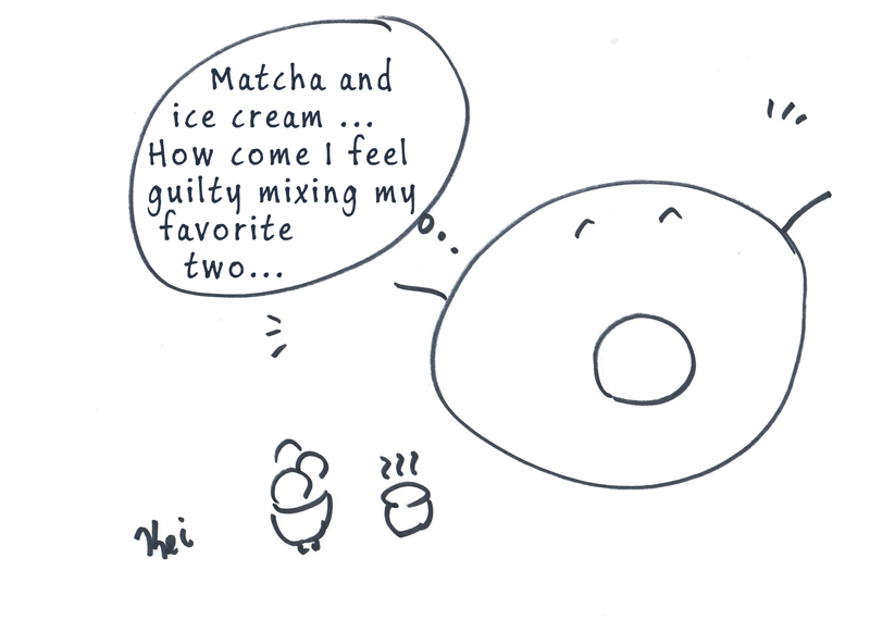 matcha a la mode - green tea comic
