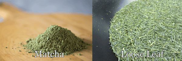 Matcha vs Loose Leaf