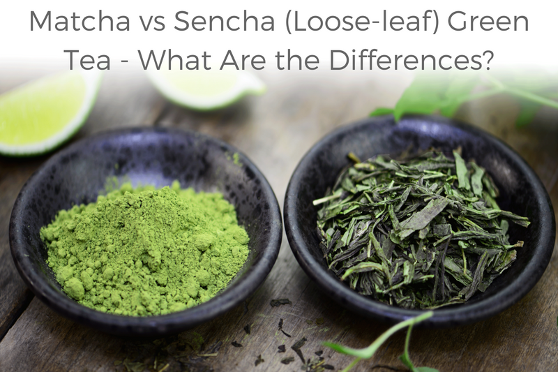 matcha vs sencha loose-leaf green tea- What are the differences?