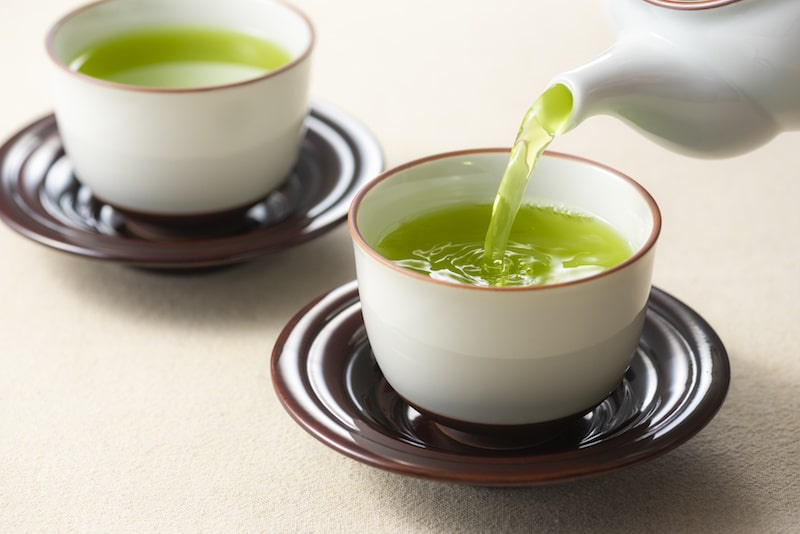 Sencha green tea has many health benefits