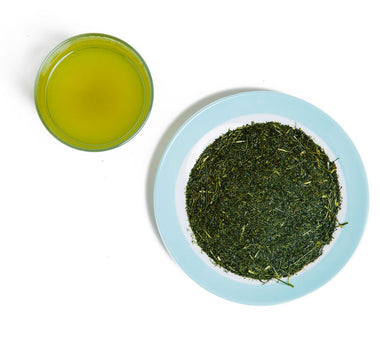 High Grade Crude Green Tea - Gokuzyo Aracha