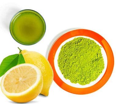 Green Tea with Lemon - JapaneseGreenTeaIn.com