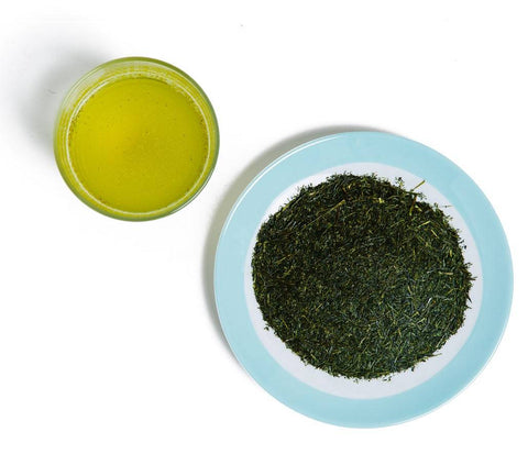 Sencha (loose-leaf) green tea