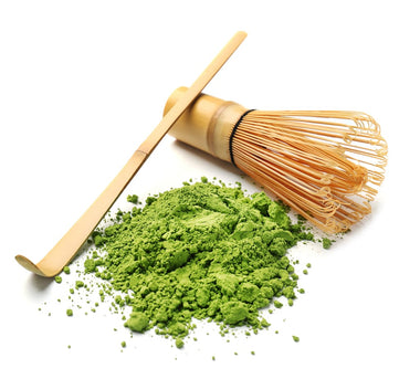 Matcha Chasen Whisk and Scoop Set (100 Prong)