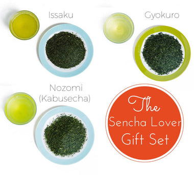The Sencha Lover Gift Set - Premium Japanese Green Tea Set Package