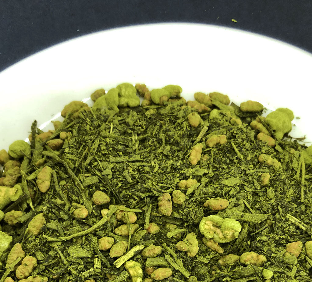 Matcha Genmai-cha - Premium Japanese Green Tea with Brown Rice & Matcha
