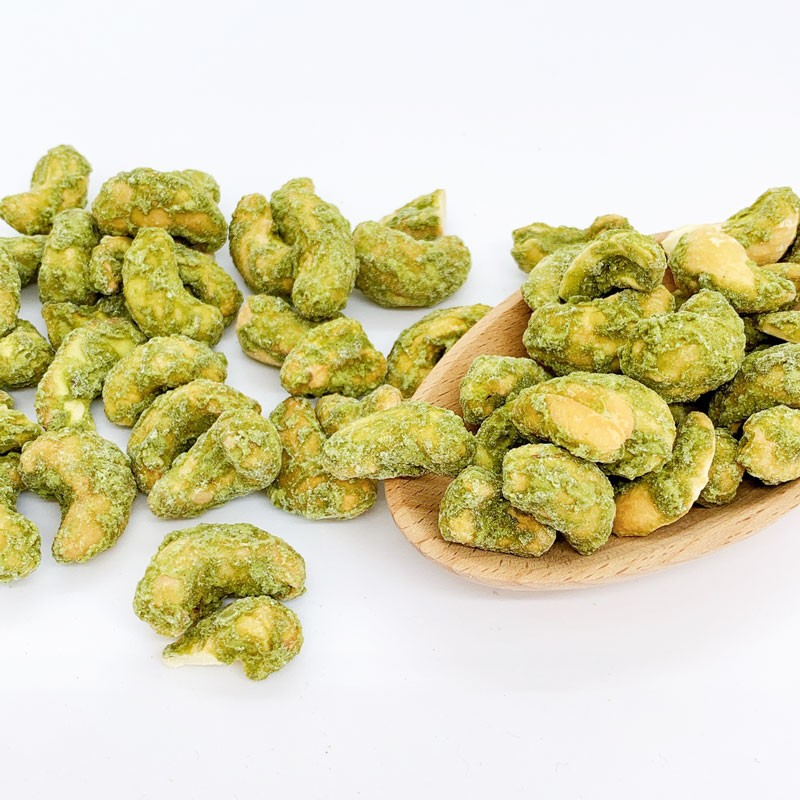 Matcha and Cashew Nuts