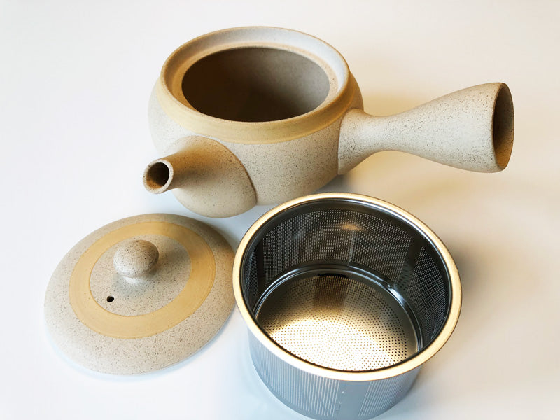 Tokoname yaku kyusu tea pot