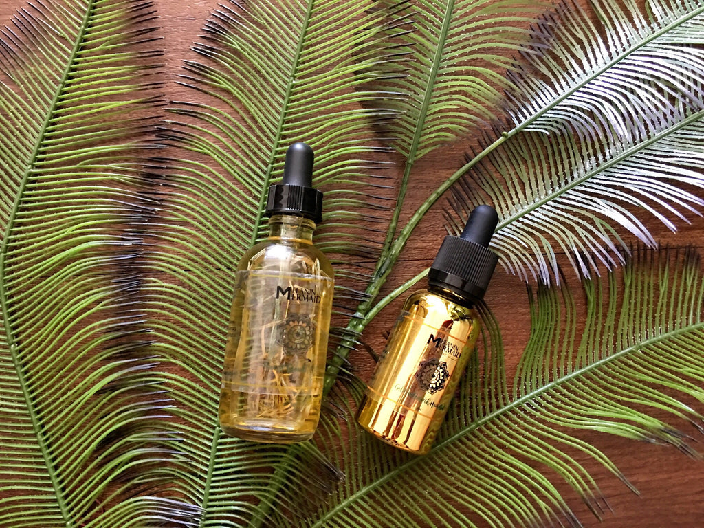 Hair & Beard Oil Gift Set