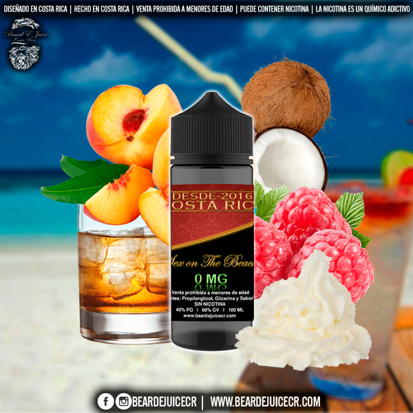 Liquido Beard EJuice N°3 Sex on the Beach
