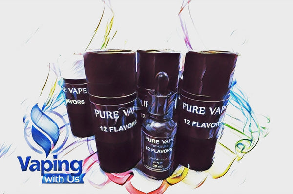 Pure Vape 12 Flavors (70/30-30ml)-(50/50-15ml)