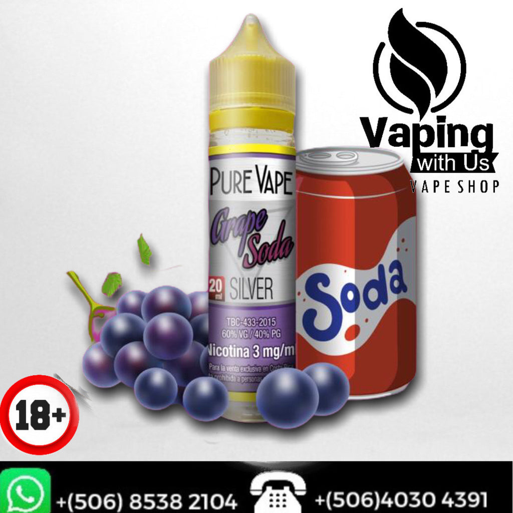 PV Silver Grape Soda