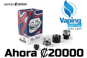 WOTOFO The TROLL RDA V2 25mm