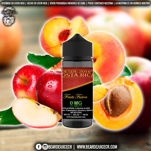 Liquido Beard EJuice N°6 Fruits Fusion