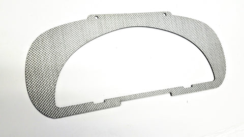 SILVER CARBON COMPOSITE MATTE Conversion Bezel for S2000 AP1 AP2 Cluster Honda EG EK EF and Acura DC