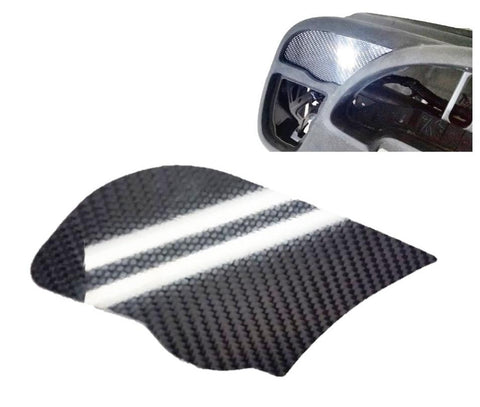 CARBON FIBER DRIVER LEFT SIDE AC VENT TRIM DELETE for 2002-2006 ACURA RSX