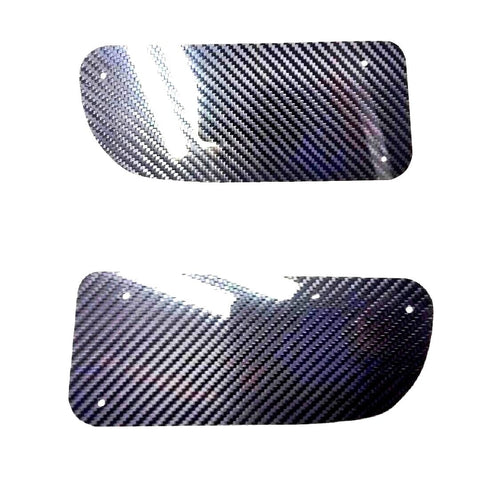 CARBON FIBER Honda Civic EG EG6 Front Bumper JDM Air Duct DELETE PANEL for 92-95 Honda Civic