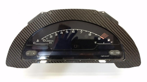 CARBON FIBER S2K AP1 AP2 Cluster Swap Conversion Bezel fits Acura for RSX