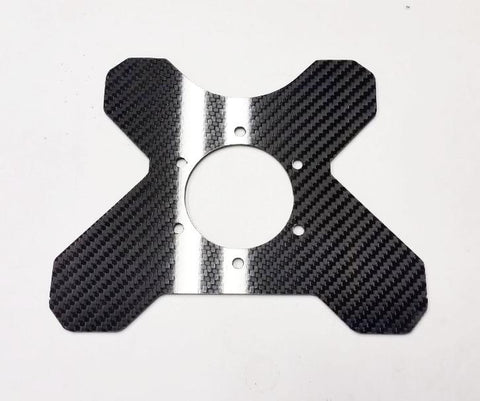 CARBON FIBER Steering Wheel Button Switch Plate for MOMO or 70mm bolt pattern