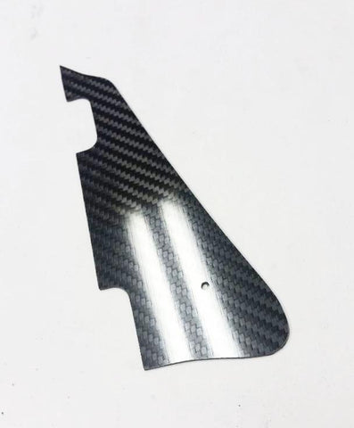 Real CARBON FIBER Pickguard for Les Paul fits Gibson Deluxe or P-90 MADE IN USA