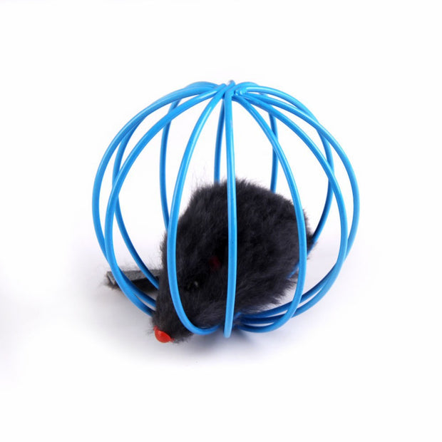 Pet Cat Lovely Kitten Funny Play Toys Mouse Ball