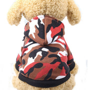 Dog Clothes Camouflage Dog Coat Hoodie Jacket for Small Dogs Pet Clothing Chihuahua