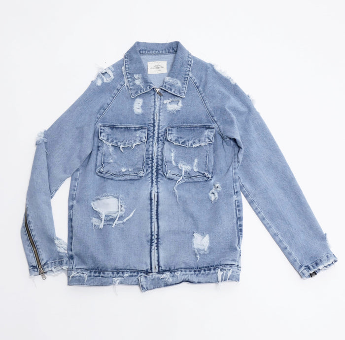 Askyuself Denim Jacket-Askyurself-CuratedLS