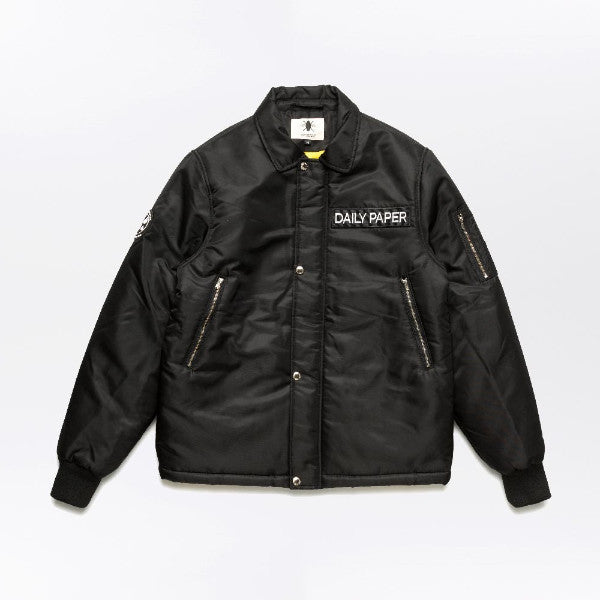 Black Marine Bomber-Daily Paper-CuratedLS