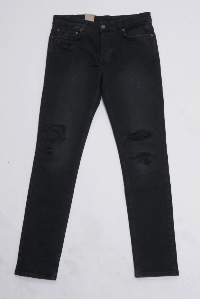 Chitch Jean Boneyard Black-Ksubi-CuratedLS