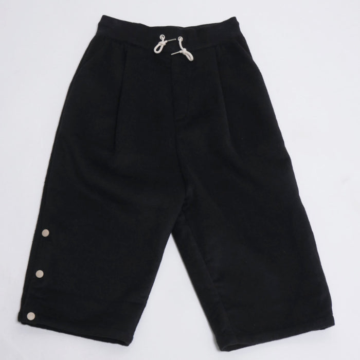 Cropped Wool Pants-DRÔLE DE MONSIEUR-CuratedLS