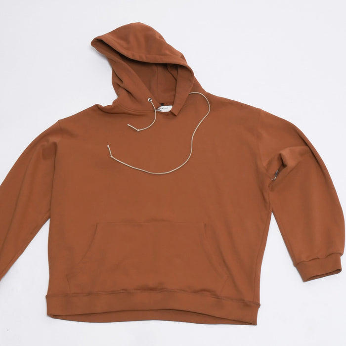 Factory Hoodie in Rust-Mr Completely-CuratedLS