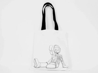 KAWS Tote Bag Resting Place-KAWS-CuratedLS