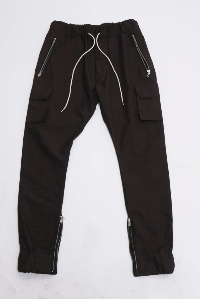 Military Track Pants Merlot-Represent Clothing UK-CuratedLS