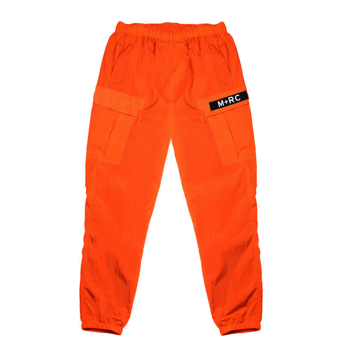"M+RC NOIR ""E.O.M"" ORANGE CARGO TRACK PANT-M+RC Noir-CuratedLS"