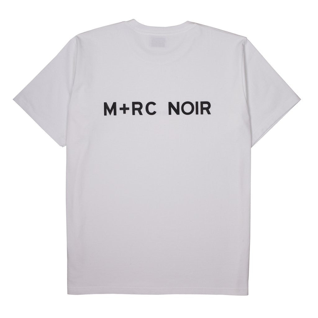 "M+RC NOIR ""NO BASIC"" WHITE TEE-M+RC Noir-CuratedLS"