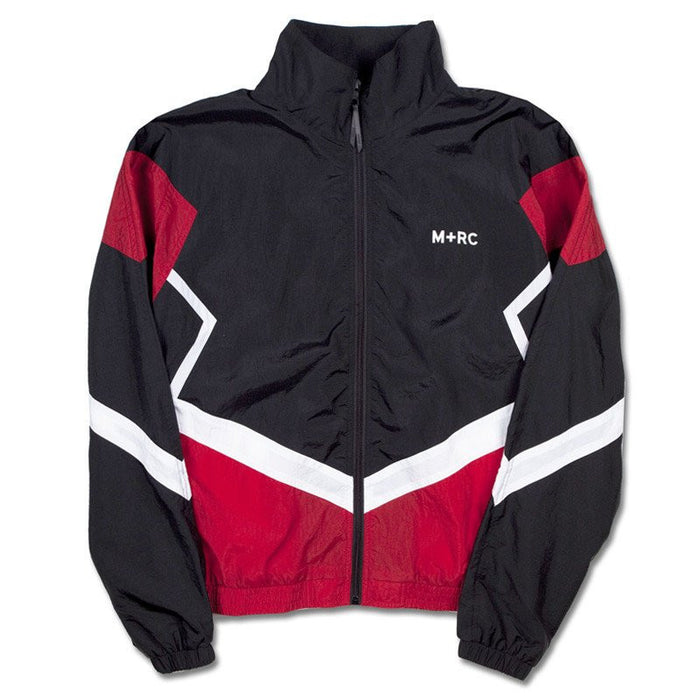 M+RC NOIR O.G TRACKSUIT JACKET BLACK WHITE RED-M+RC Noir-CuratedLS